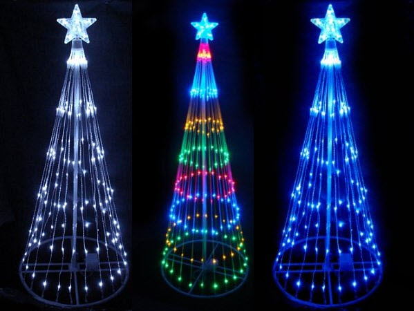 outdoor cone christmas tree with led lights - Outdoor Led Christmas Tree