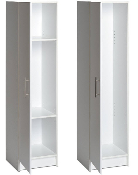 Captivating Tall Narrow Storage Cabinet Small Cabinets With Doors And Shelves Black  White