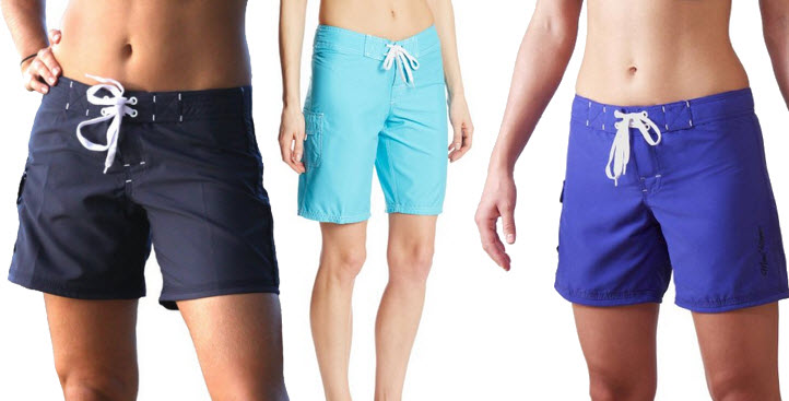 womens-blue-boardshorts