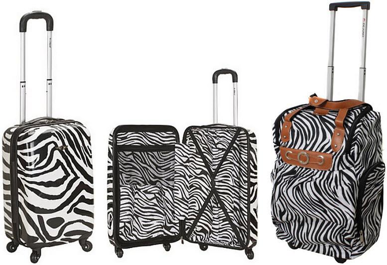 zebra-print-rolling-luggage