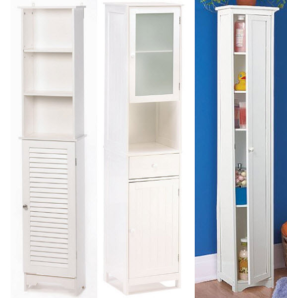 Nice Tall Narrow Bathroom Storage Cabinets
