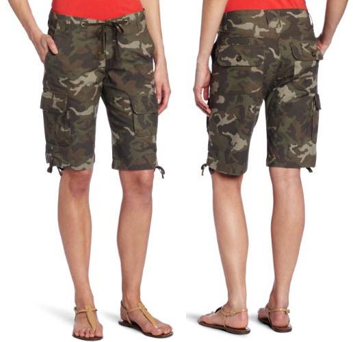 Womens Camo Cargo Shorts Thatsthestuff Net