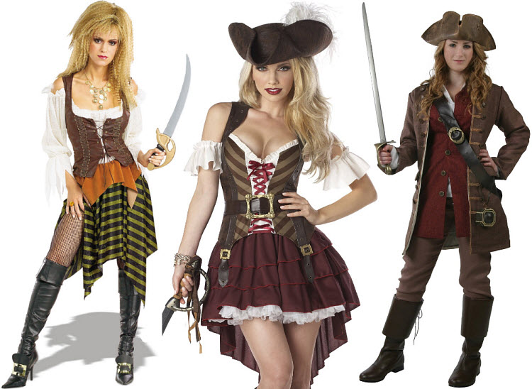 Authentic Female Pirate Costume